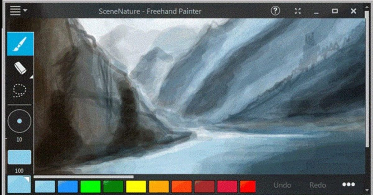 【电脑绘画】Freehand Painter 免费电脑绘画软体下载