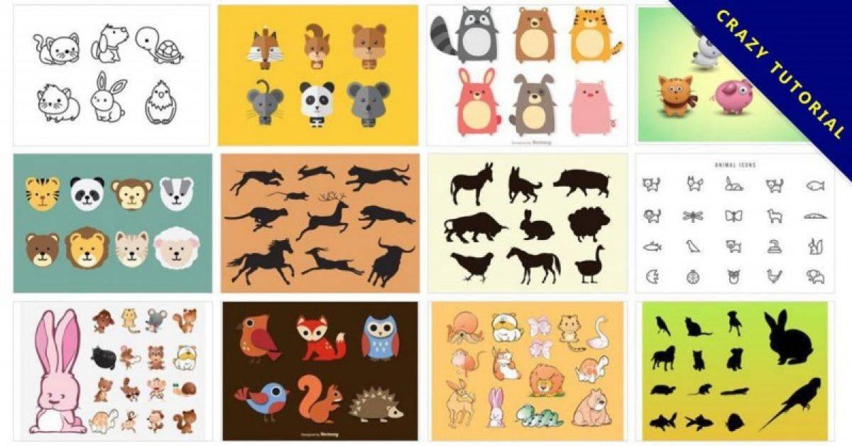 【动物矢量图】 144套专业版illustrator动物矢量图下载