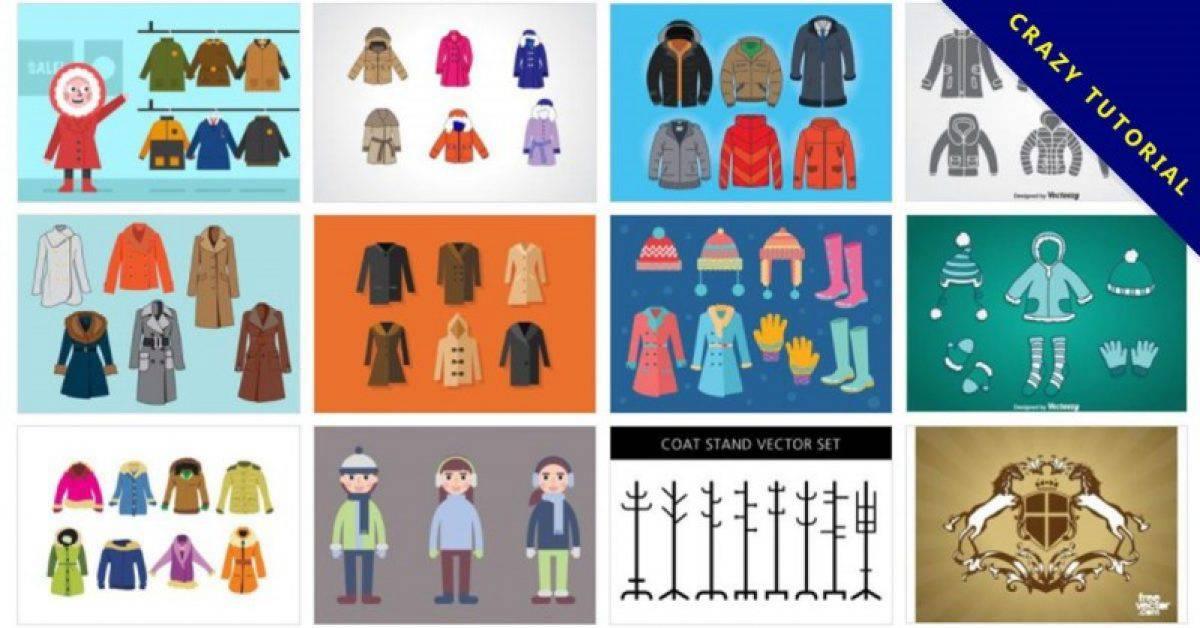 【外套版型】38套Illustrator 外套版型下载,外套图案设计推荐
