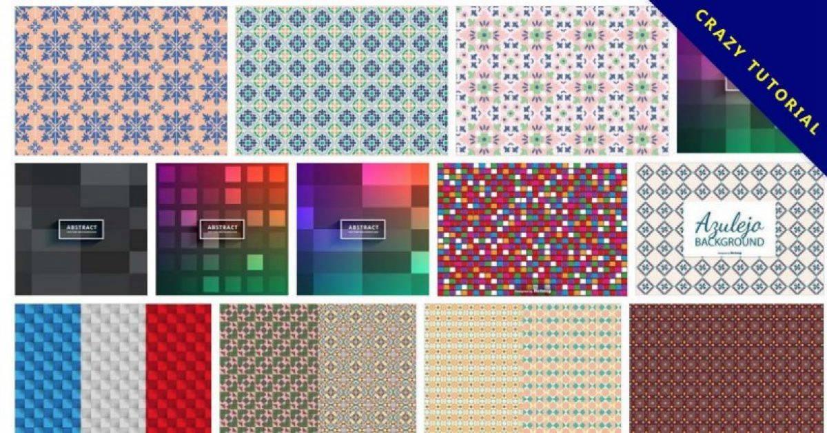 【马赛克图案】70套illustrator 马赛克图片素材下载