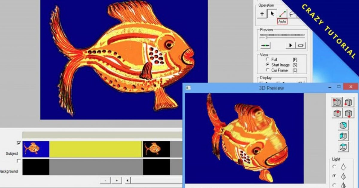 【2D转3D照片】Photoanim 2D照片转3D模型软体下载,建立专业3D图档