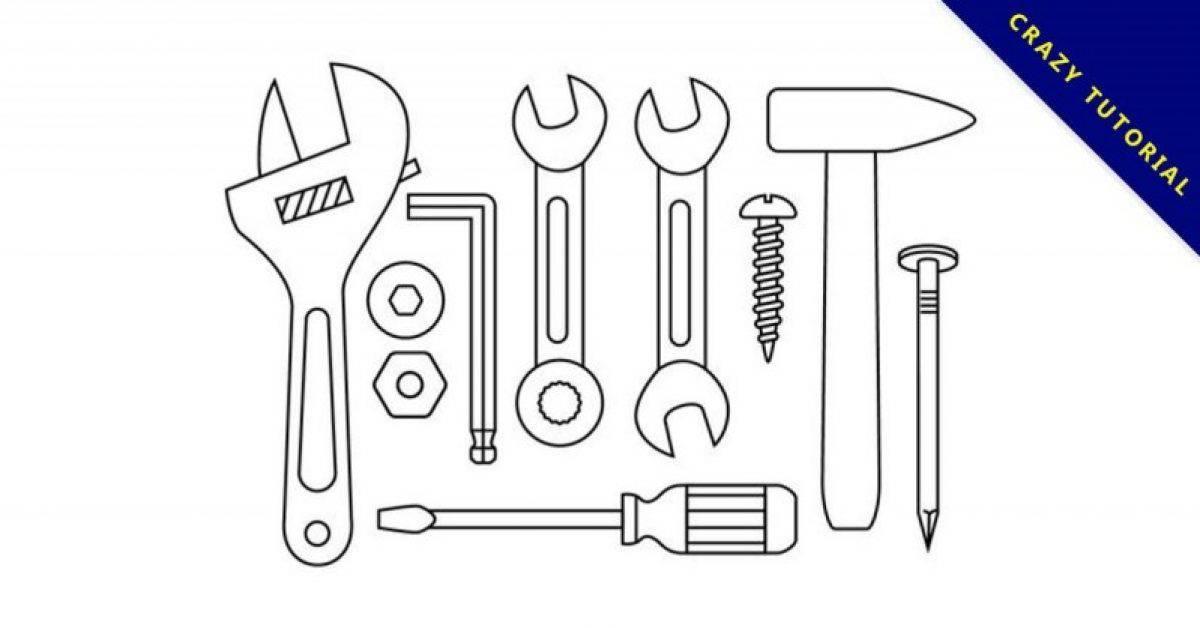 【工具icon】精选34款工具icon下载,工具卡通免费推荐款