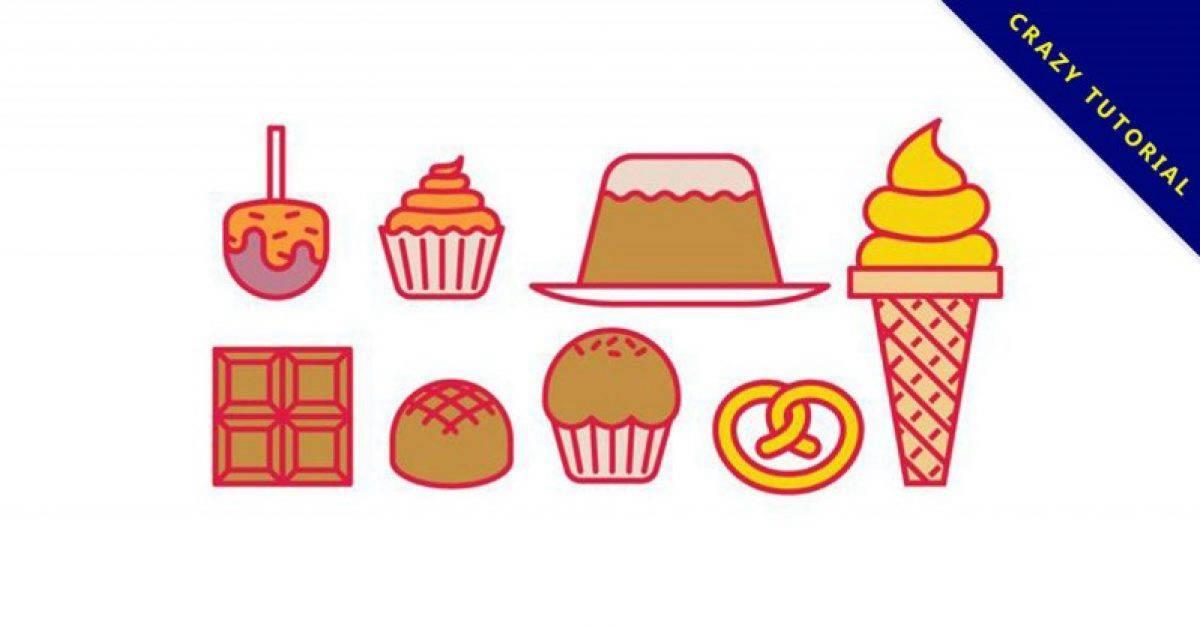【甜点插画】精选38款甜点插画下载,甜点插图免费推荐款