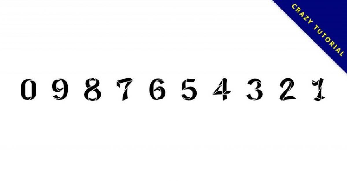 【折纸字体】日本折纸字体下载,仅供个人用途