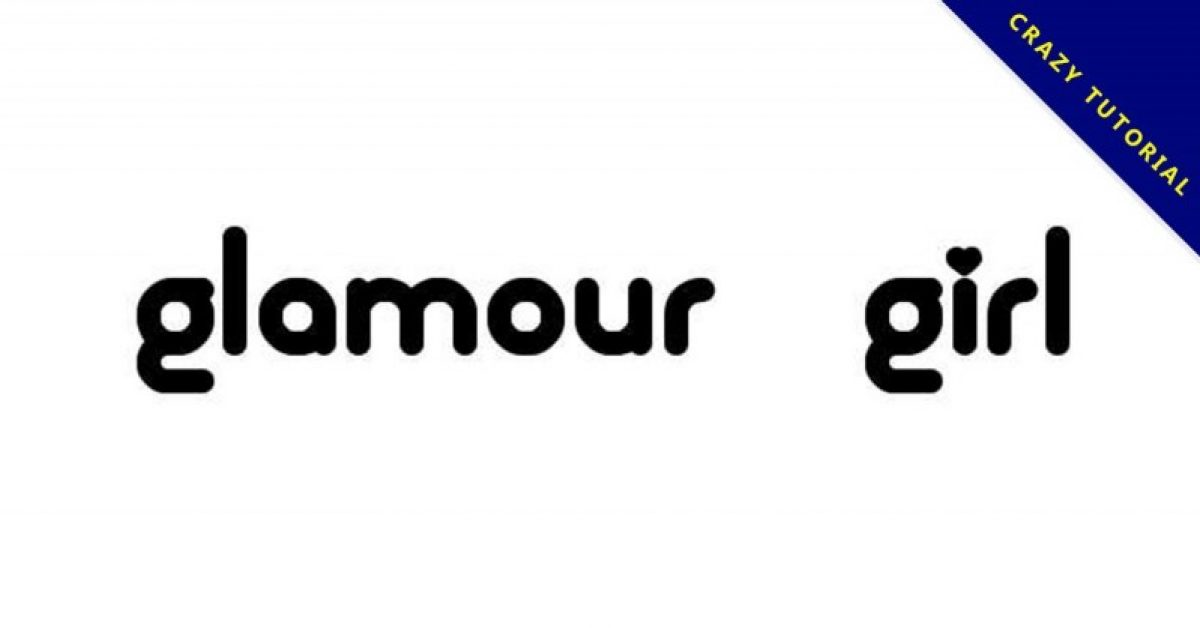【魅力字体】Glamour Girl 女孩魅力字体下载
