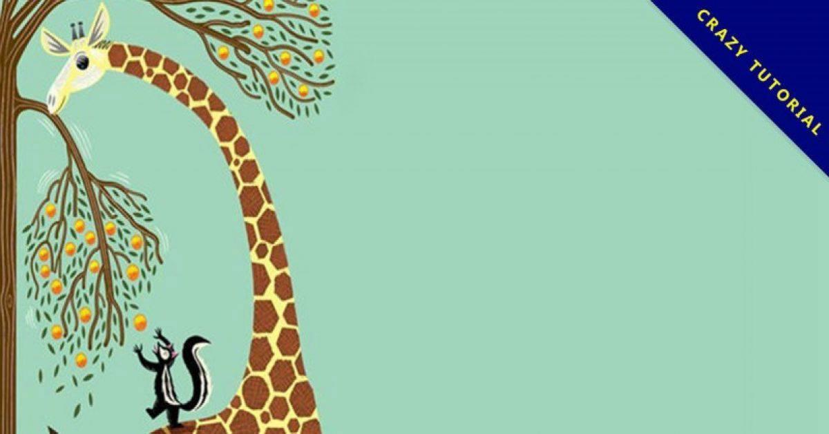 【动物PPT背景】精选12款动物PPT背景下载,可爱动物背景快速套用