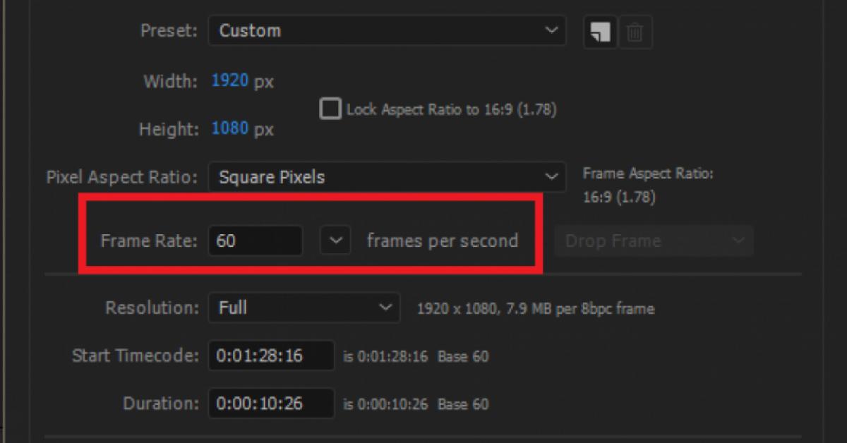 一分钟教你输出60FPS影片! /  60fps转30fps / 60fps 动画