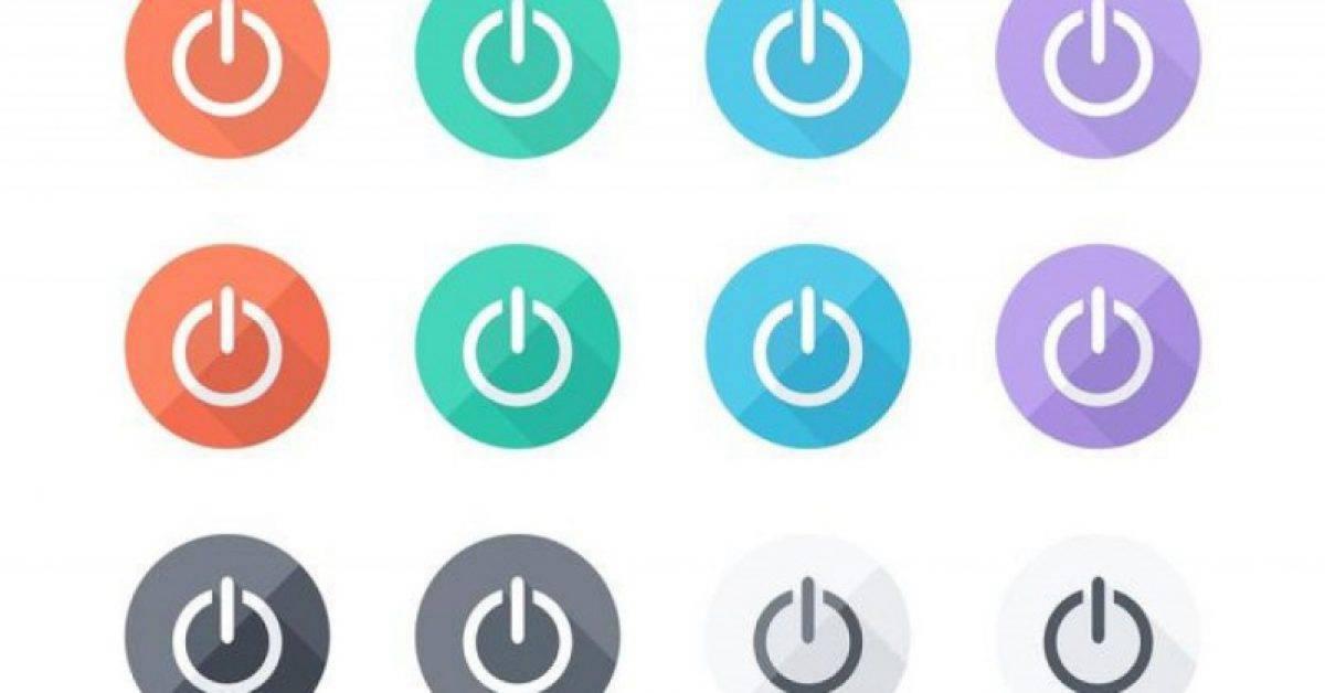 【电源符号】31套 Illustrator 电源图示下载,电源按钮推荐款