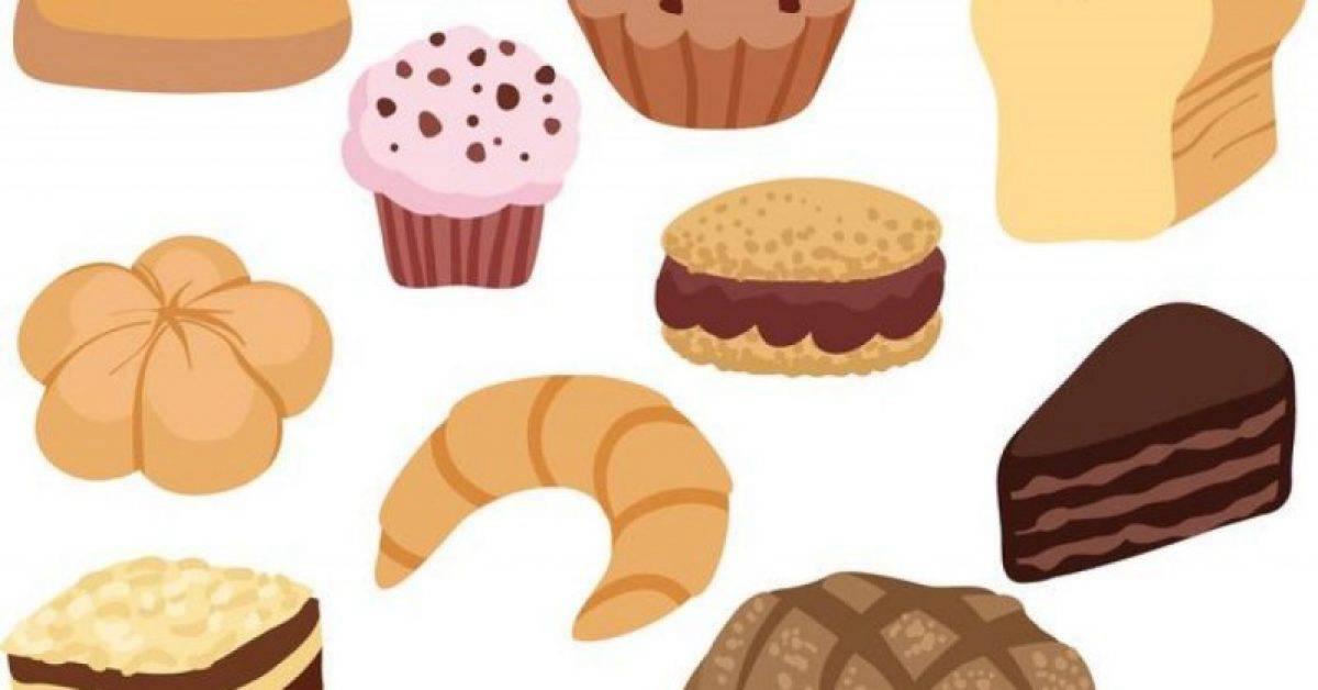 【面包图案】37套 Illustrator 面包图片下载,面包卡通图推荐款