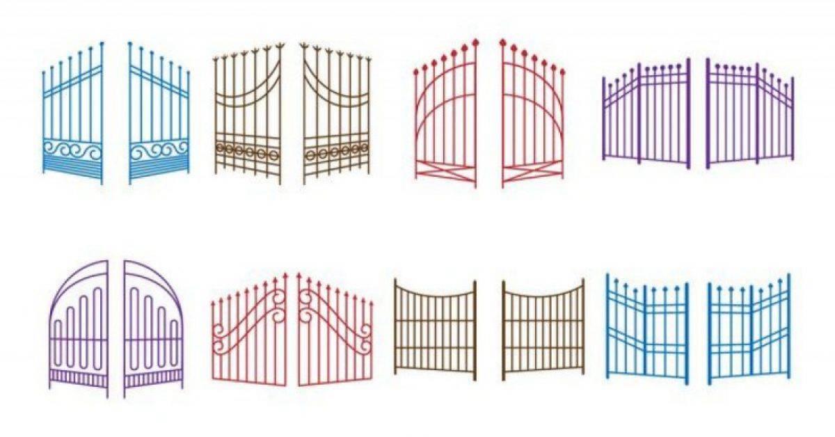 【门图案】40套 Illustrator 门素材下载,大门图示推荐款
