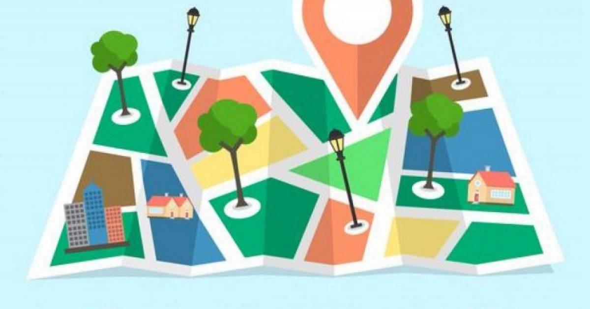 【地标图案】32套 Illustrator 地标素材下载,导航图推荐款