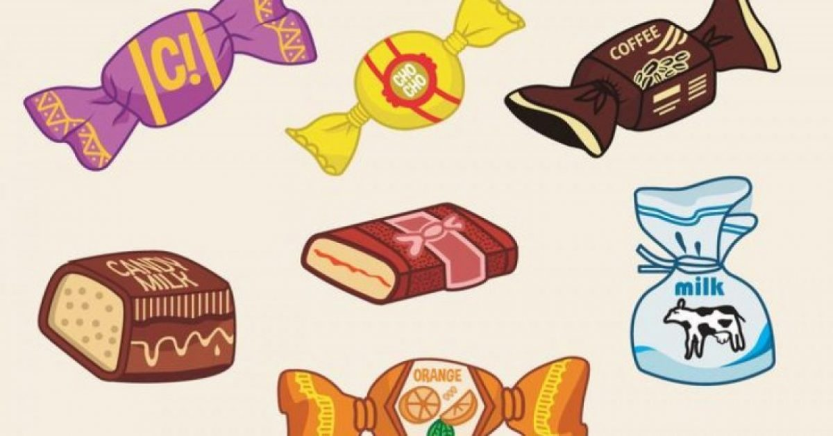 【糖果图案】37套 Illustrator 糖果图片下载,糖果卡通推荐款